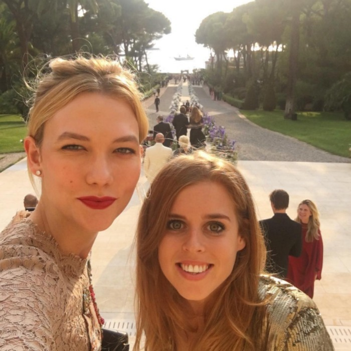 "<a href=""http://us.hellomagazine.com/tags/1/karlie-kloss/""><strong>Karlie Kloss</strong></a> had one royal wedding date! The supermodel posted a photo on her Instagram featuring none other than <a href=""http://us.hellomagazine.com/tags/1/princess-beatrice/""><strong>Princess Beatrice</strong></a>. The two were in France for the wedding of art collector and dealer Alberto ""Tico"" Mugrabi and Colby Jordan, and Karlie took the opportunity to capture the occasion.