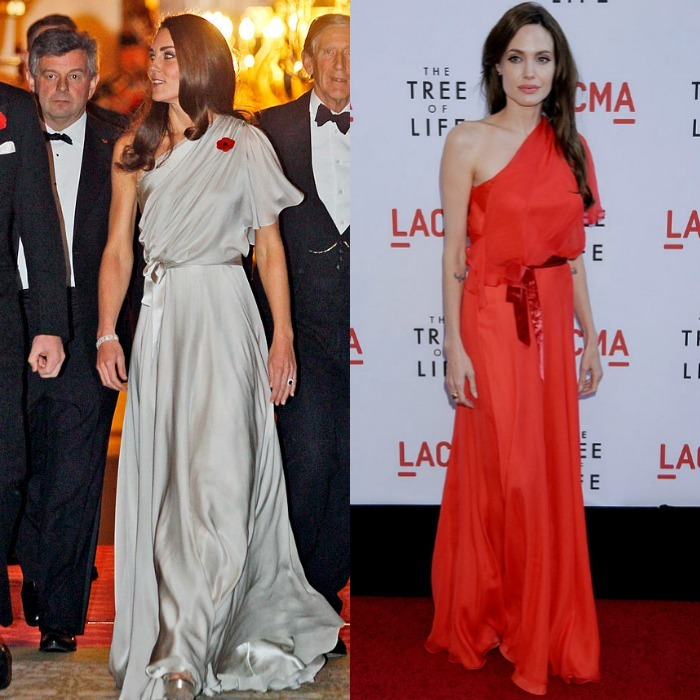 Prince George's mom and <b>Angelina Jolie</b>