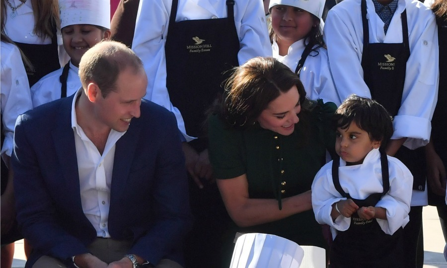 "Alison Love, who is a board member of the Okanagan Chef's Association, recounted the moment when Kate, 34, sprung into action to help a little boy who was on the move during their visit to Mission Hill Winery as part of their 2016 Canadian royal visit. ""There was a little one sitting beside Kate and he kept squirming off his chair and she kept lifting him up and putting him back on his chair, Alison tells HELLO!. ""It was quite cute, but funny to watch – up, down, up, down.""