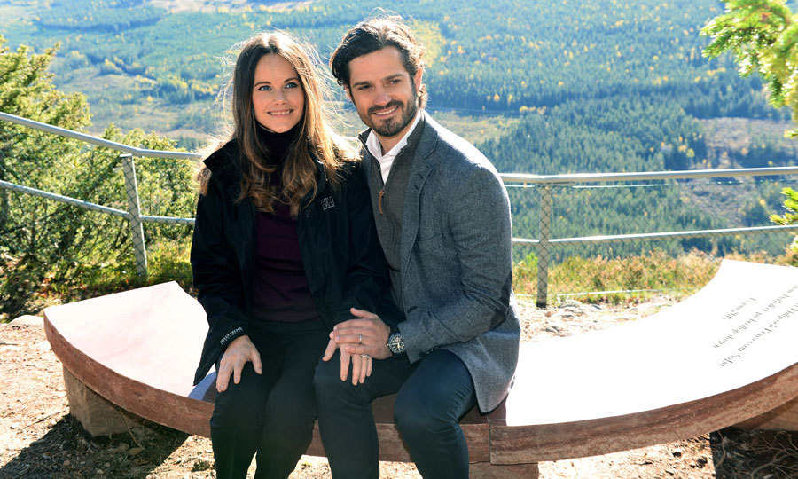 "During the outing, Prince Alexander's parents unveiled a stone bench they received as a wedding gift. In his speech, the Swedish royal said, ""Princess Sofia and I want to thank you for this nice stone bench. It's really a generous gift. And it feels good to know that it will be a joy for all who visit this amazing viewpoint, in many years to come. Right here I have been several times with my wife and, more recently, my son. I feel at home here in the wild. If I have a wish it would be that this site will become a place where many children and young people get the chance to discover nature.""