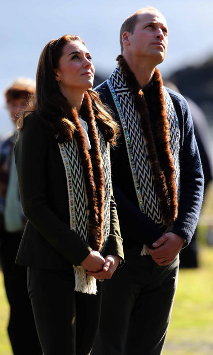 The pair's outing to the island of of Haida Gwaii, British Columbia comes a day after attending an engagement in Victoria, Canada with their children, Prince George and Princess Charlotte.