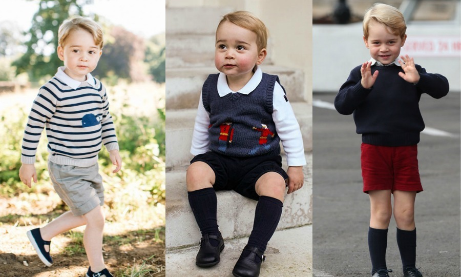 Prince George's wardrobe: All the times the little royal ...