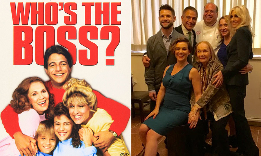In September 2016, the cast of 1980s classic <I>Who's the Boss</I> reunited at Patsy's Italian Restaurant in New York City for a photo shoot for Entertainment Weekly. What was on the menu for the former co-stars? Patsy's popular signature dish, veal meatballs and spaghetti. 
