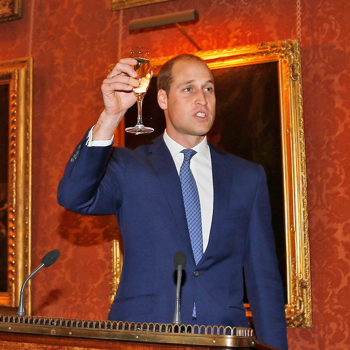 Prince William honored the late President John F. Kennedy at Buckingham Palace on October 13 during a reception marking the 50th anniversary of the Kennedy Memorial Trust.