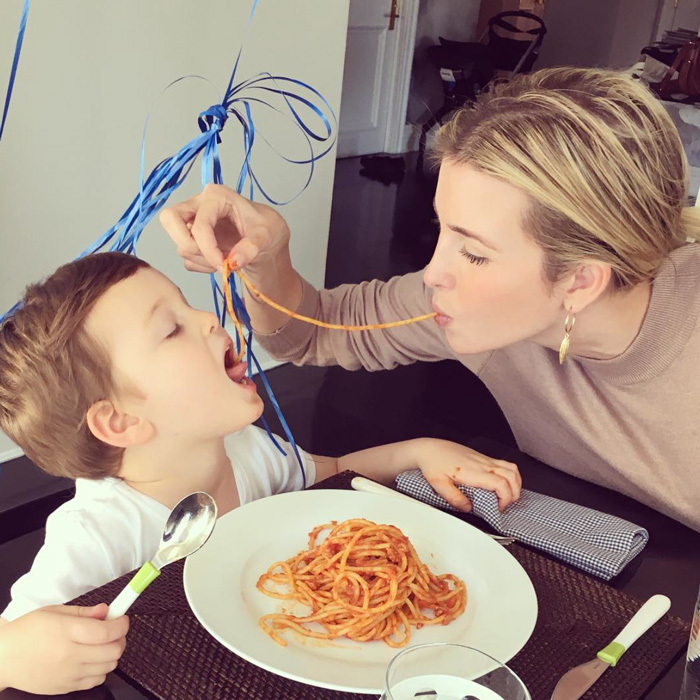 "Happy Birthday! The businesswoman celebrated her middle child, Joseph Kushner's third birthday on October 14 with an adorable mother-son tradition. Ivanka took to her Instagram to give fans a glimpse into the festivities writing, ""Birthday tradition: Spaghetti lunch-date!""