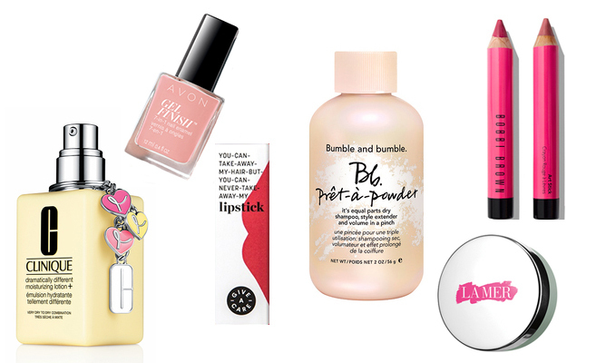 Every October a slew of products are swathed in pink to acknowledge Breast Cancer Awareness Month. Here, we've rounded up the best beauty buys that support cancer research and the women in our lives who have battled the disease. Click through our gallery to see them all...