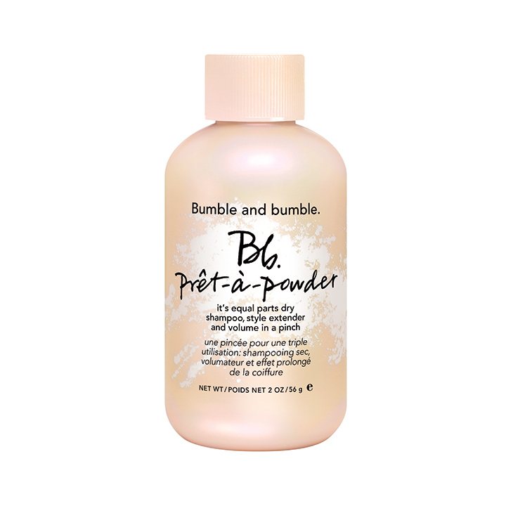 Bumble and Bumble Prêt-à-Powder With a Limited-edition Pink Cap, $27, bumbleandbumble.com