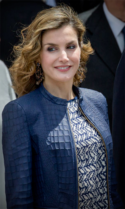 At Madrid's Prado museum in 2016, Queen Letizia of Spain showed that swoon-worthy jewels don't have to break the bank, donning a pair of gem-encrusted earrings that cost just $19.99.