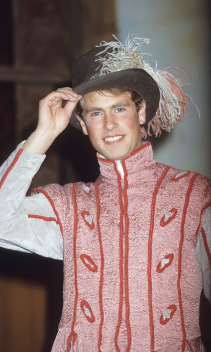 "<a href=""http://us.hellomagazine.com/tags/1/prince-edward/""><strong>Prince Edward</strong></a> looked sharp in his Blondello costume during rehearsals for Shakespeare's <i>The Taming of the Shrew</i> at Haddo House, Aberdeen in 1985.