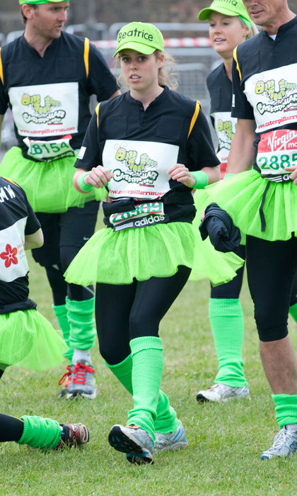 "<a href=""http://us.hellomagazine.com/tags/1/princess-beatrice/""><strong>Princess Beatrice</strong></a> wore a green tutu and matching knee-high socks to compete in the 2010 London Marathon  on behalf of her mother's Children in Crisis charity.