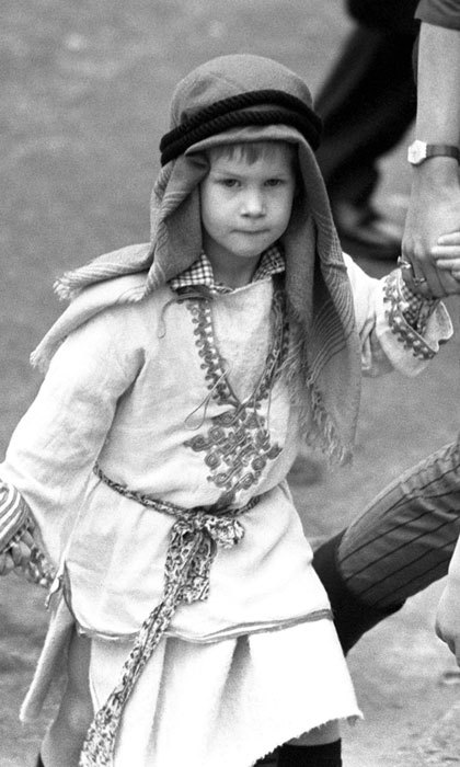 Prince George's uncle made an adorable shepherd in 1988 participating in his school's nativity play. 