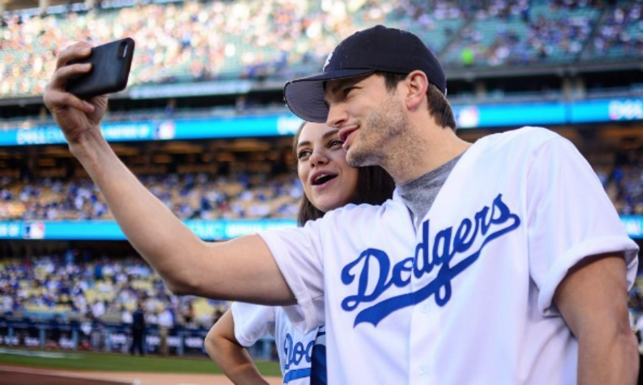 "October 19: Baseball babes! Expecting parents <a href=""http://us.hellomagazine.com/tags/1/ashton-kutcher/""><strong>Ashton Kutcher</strong></a> and <a href=""http://us.hellomagazine.com/tags/1/mila-kunis/""><strong>Mila Kunis</strong></a> threw on their matching jerseys to the ballpark to watch the Los Angeles Dodgers take on the Chicago Cubs. 