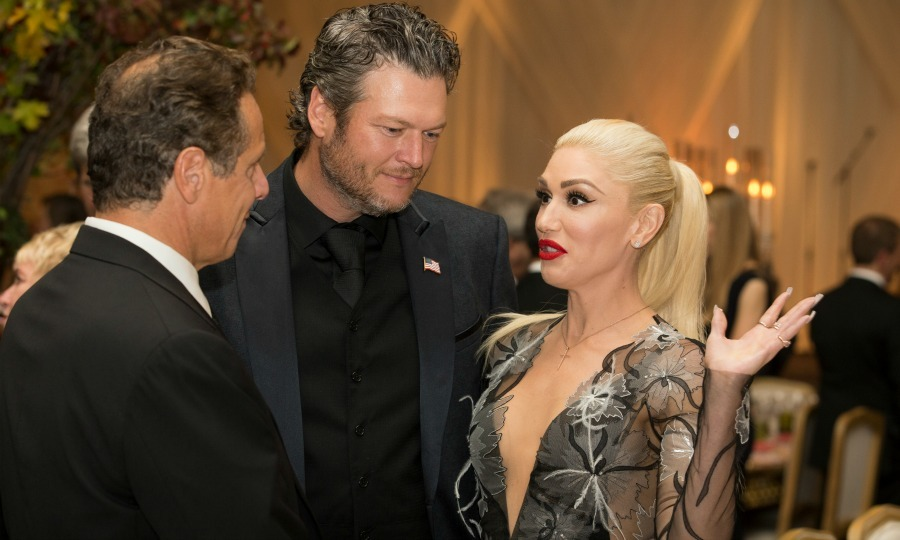 "October 18: <a href=""http://us.hellomagazine.com/tags/1/blake-shelton/""><strong>Blake Shelton</strong></a> and <a href=""http://us.hellomagazine.com/tags/1/gwen-stefani/""><strong>Gwen Stefani</strong></a> took a trip to Washington, D.C where they hit the stage for the Obamas final state dinner. 