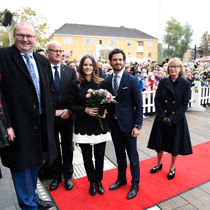 Sofia and Carl were welcomed by Mayor Dag Rogne to the town hall and were treated to music by the Saffle-Opera.