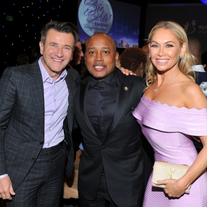 October 21: Kym Johnson and Robert Herjavec came out to support <Shark Tank</i> pa Daymond John at the Big Brothers Big Sisters of Greater Los Angeles' Big Bash Gala held at the Beverly Hilton.