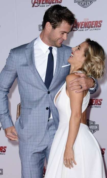elsa pataky and chris hemsworth how did they meet