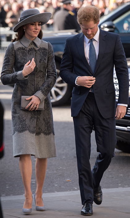 Kate Middleton rocked an Erdem coat as she attended the annual Commonwealth Service in Westminster Abbey.