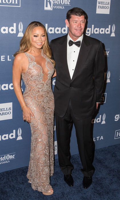 <b>Mariah Carey and James Packer</b>