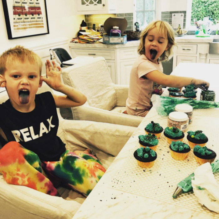 "Hilary Duff's son, Luca, and Jack Osbourne's daughter, Pearl, had a sweet playdate to saw the least, decorating cupcakes. The <i>Younger</i> star shared a photo from her son's fun outing, writing, ""Homies 4 life #Pearl&Luca @mrslisao & @jackosbourne thanks for the dinner and hang."" She added, ""Sorry bout the @fancysprinkles all over your house.""