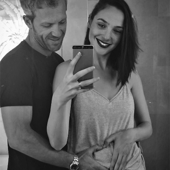 <b>Gal Gadot and Yaron Versano</B>