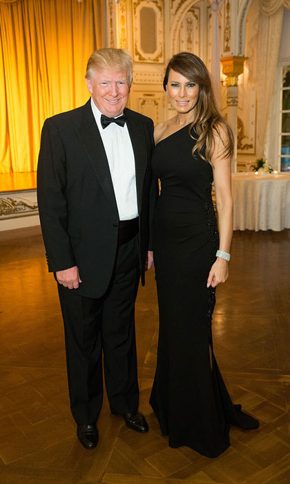 The Trump's certainly looked presidential at the 2015 International Red Cross Ball held at the Mar-a-Largo Club  in Palm Beach, Florida. 