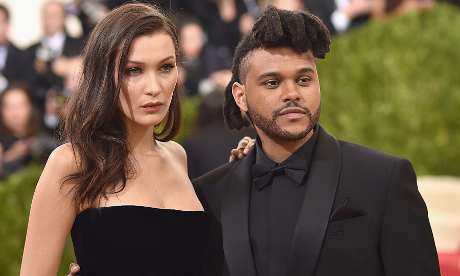 <b>Bella Hadid and The Weeknd</b>