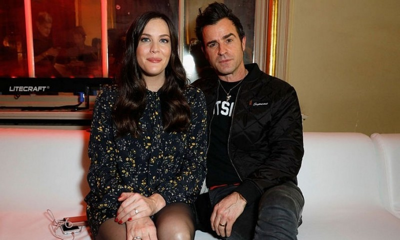 November 10: <i>The Leftovers</i> co-stars Liv Tyler and Justin Theroux met up in Berlin for the GQ Men of the Year Awards. 