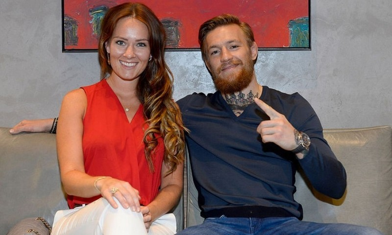 <b>Conor McGregor and Dee Devlin</b>