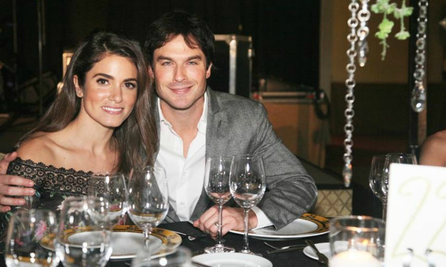 November 12: Coupled up! Nikki Reed and Ian Somerhalder enjoyed date night during the Unlikely Heroes fourth annual Recognizing Heroes Charity Benefit in Dallas, Texas. 