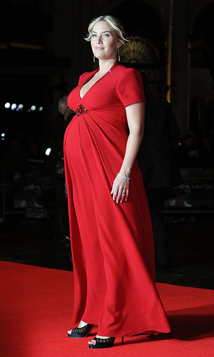 "English rose <a href=""http://us.hellomagazine.com/tags/1/kate-winslet/""><strong>Kate Winslet</strong></a> looked like a 'yummy mummy' at the Mayfair Gala European Premiere of <I>Labor Day</I> in 2013. Kate and her husband Ned Rocknroll welcomed their son Bear that December.