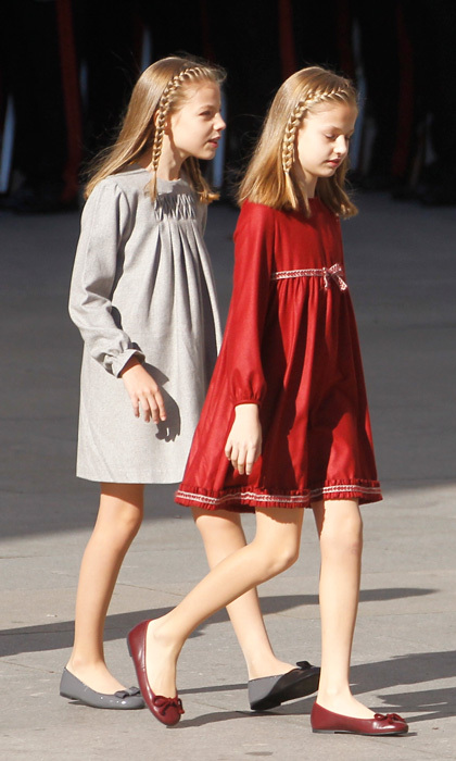 Spain S Princess Leonor And Infanta Sofia S Matching Style