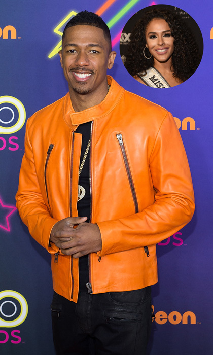 <b>  Nick Cannon and Brittany Bell</b>