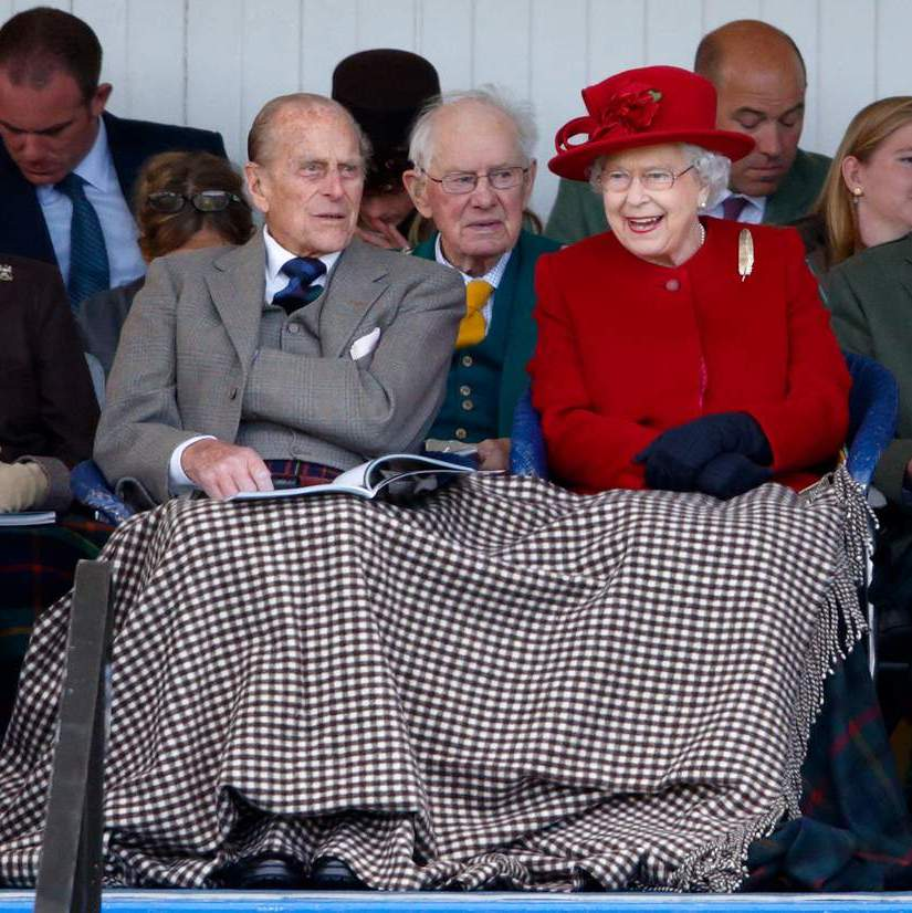 In 2015, the royal couple shared a blanket at the Braemar Gathering at The Princess Royal and Duke of Fife Memorial Park in Scotland.