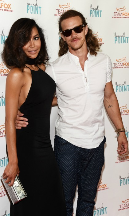 <b> Naya Rivera and Ryan Dorsey</b>