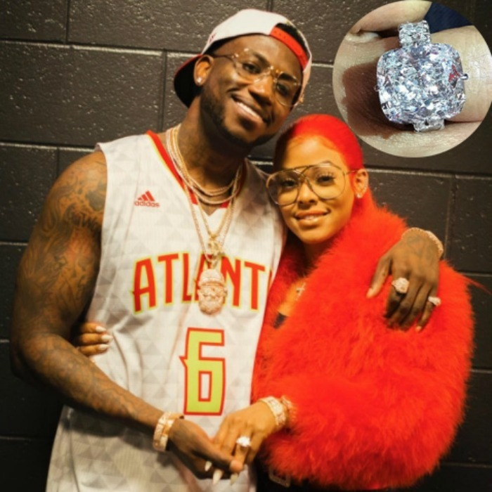 <b>Gucci Mane and Keyshia Ka'oir</b>