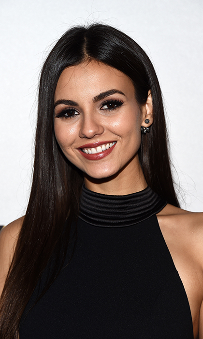 <b>Victoria Justice</b> embraced winter's earthy hues at the 1st Annual Marie Claire Young Women's Honors at the Marina del Rey Marriott on November 19 in Marina del Rey, California. 