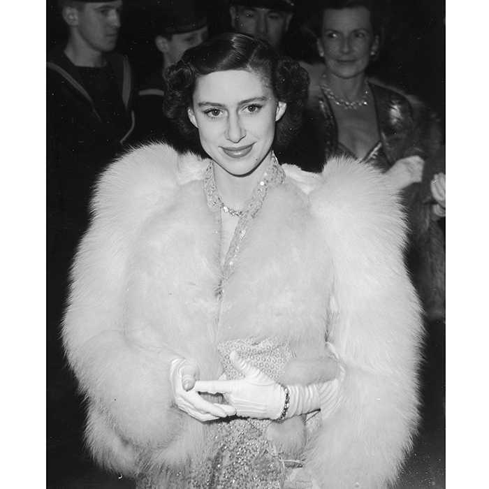 "Queen Elizabeth's late sister <a href=""http://us.hellomagazine.com/tags/1/princess-margaret/""><strong>Princess Margaret</strong></a>, seen here in sequins and fur in 1951, was a true trendsetter in her heyday. Curator of the Fashion Rules exhibition at Kensington Palace Cassie Davies-Strodder told Grazia: ""Margaret was a distinctive fashion icon because she was so glamorous – with all the beauty of a Hollywood film star, she brought a new kind of style of the Royal Family."" Princess Margaret's style has been rediscovered by a new generation thanks to her oh-so-cool character on Netflix series <I>The Crown</I>.