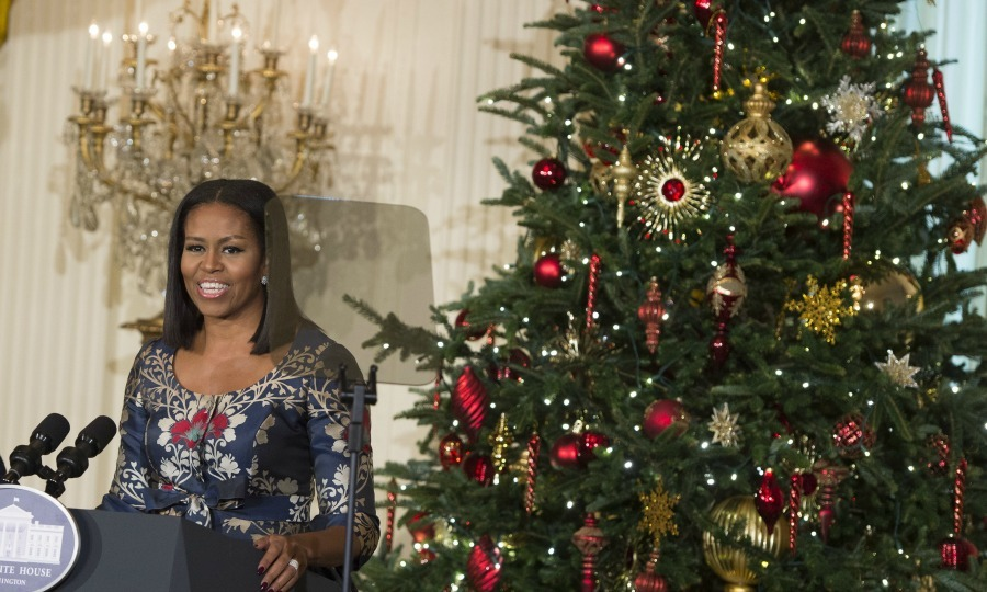 Michelle Obama Unveils Her Final White House Christmas