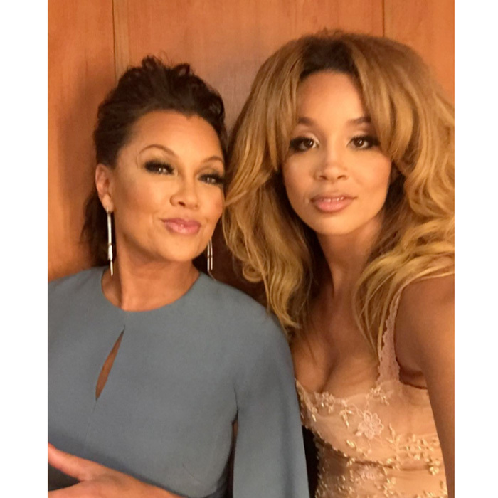 <b>Vanessa Williams and Jillian Hervey</b>
