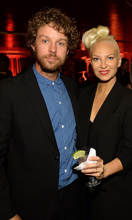 <b>Sia and Erik Anders Lang</b>