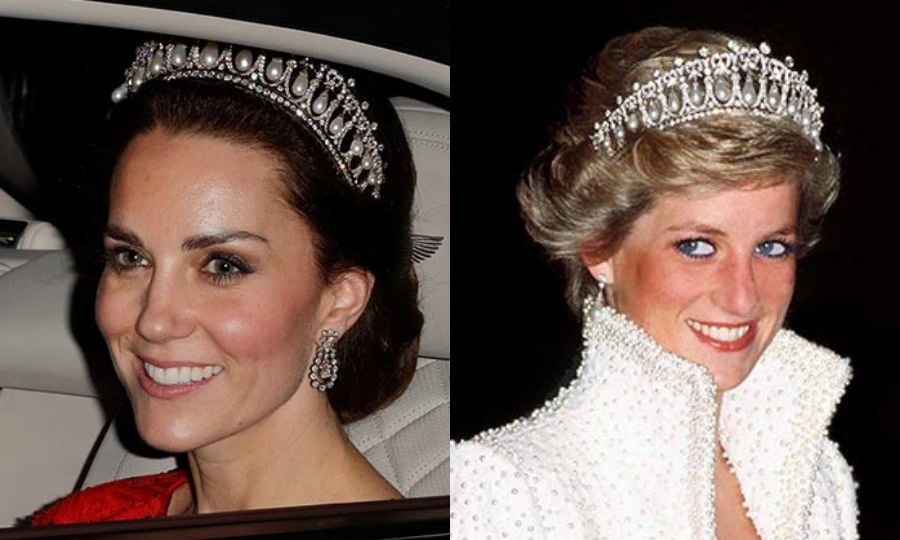 Kate Middleton and the Cambridge Lover's Knot Tiara: The ...