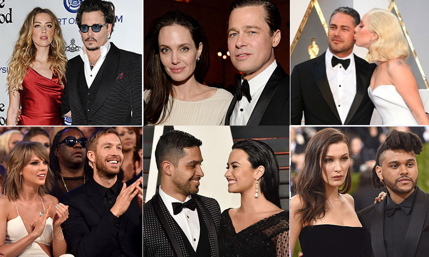 There were lots of happy endings for celebrity love stories this year, but for some famous couples 2016 meant the end of the road. Sad, surprising and sometimes even shocking, these are the celebrity breakups that made headlines over the past 12 months.