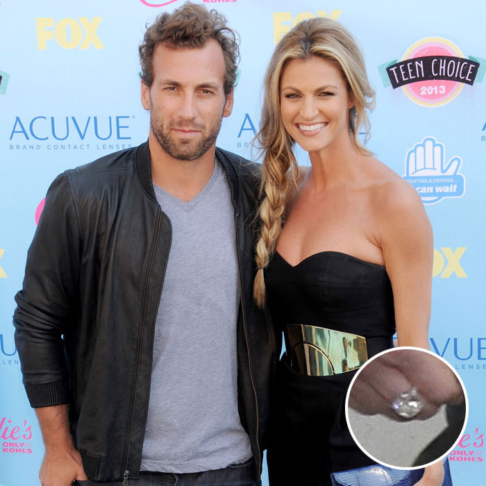 <b>Jarret Stoll and Erin Andrews</b>