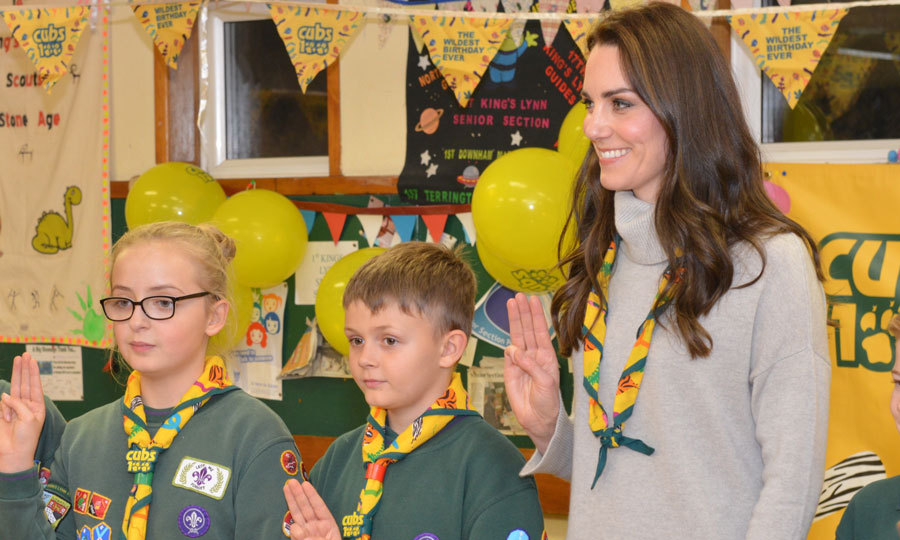 "The royal joined in on the Cub Scout Promise renewal, reciting the promise that states ""I promise that I will do my best / To do my duty to God and to the Queen / To help other people / And to keep the Cub Scout Law,"" alongside cubs. 
