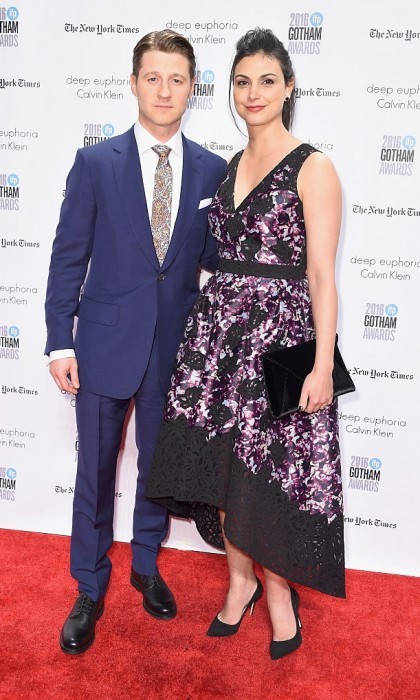 <b>Morena Baccarin and Ben McKenzie</b>