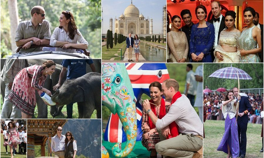 "12. <a href=""http://us.hellomagazine.com/royalty/12016041013483/royal-tour-india-bhutan-kate-middleton-prince-william-photo-gallery/2""><strong>Prince William and Kate Middleton go to India and Bhutan</strong></a>