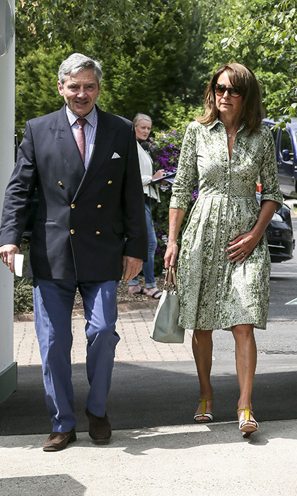 "13. <a href=""http://us.hellomagazine.com/royalty/2016012829529/middletons-arrive-in-mustique-for-annual-holiday/""><strong>Duchess Kate's parents Michael and Carole vacation in Mustique</strong></a>