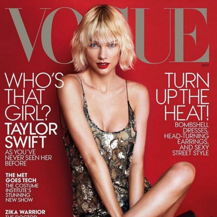 "20. <a href=""http://us.hellomagazine.com/celebrities/gallery/12016041413658/taylor-swift-unrecognizable-vogue-cover/""><strong>Taylor Swift's major makeover</strong></a>