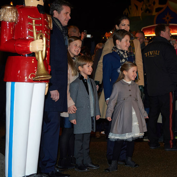 Crown Prince Frederik and Crown Princess Mary attended the premiere night of the ballet <i>The Nutcracker</i> at Copenhagen's Tivoli Concert Hall with their four children.