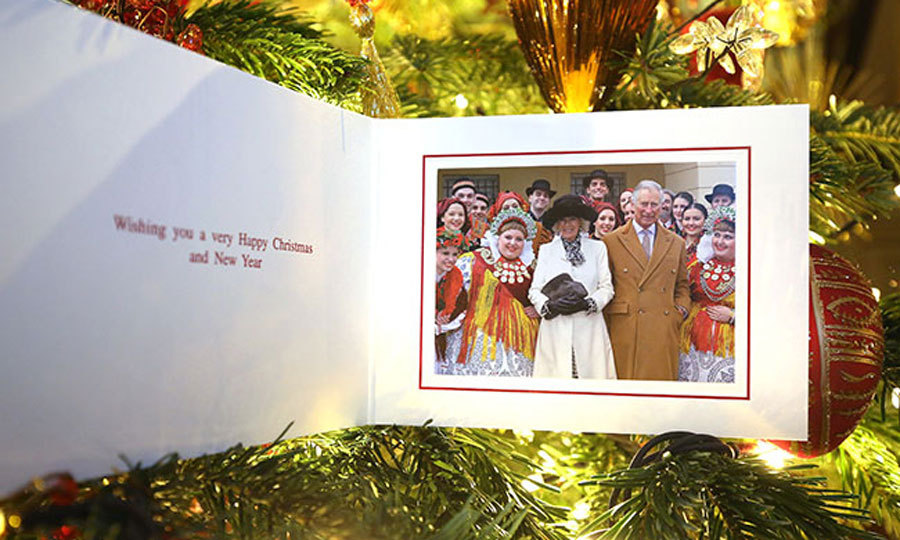 Prince Charles and Camilla shared their holiday card that includes a photo of the British royals from their official visit to the Western Balkans.